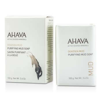 AhavaDeadsea Mud Purifying Salt Soap 100g/3.4oz