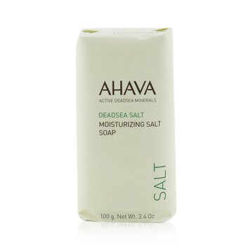 AhavaDeadsea Salt Moisturizing Salt Soap - Sabun 100g/3.4oz