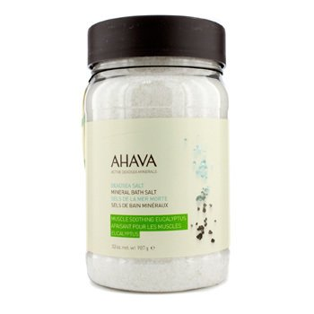 AhavaDeadsea Salt Eucalyptus Dead Sea Bath Salt 907g/32oz