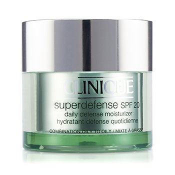 CliniqueSuperdefense Daily Defense Moisturizer SPF 20 (Combination Oily to Oily) 50ml/1.7oz
