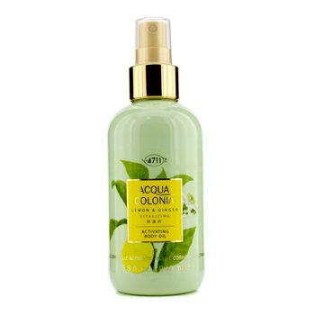 4711Acqua Colonia Lemon & Ginger Activating Body Oil 200ml/6.8oz