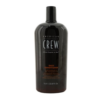 American Crew Men Daily Conditioner (For Soft  Manageable Hair) 1000ml/33.8oz