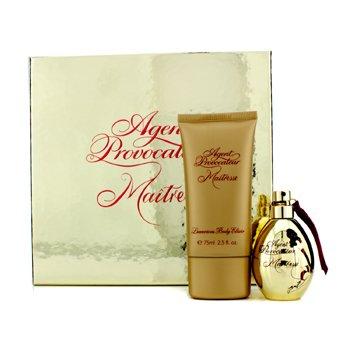 Agent Provocateur Maitresse Coffret: Eau De Parfum Spray 30ml/1oz + Eixir Lujoso de Ba�o 75ml/2.5oz  2pcs