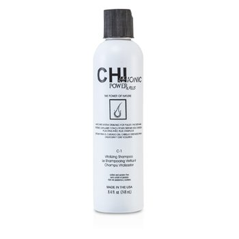 CHI CHI44 Ionic Power Plus C-1 Vitalizing Shampoo (For Fuller  Thicker Hair) 248ml/8.4oz