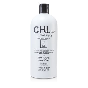 CHICHI44 Ionic Power Plus C-1 Vitalizing Shampoo (For Fuller, Thicker Hair) 946ml/32oz