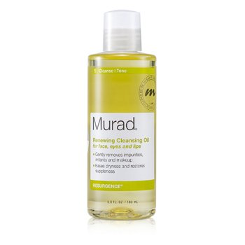 MuradResurgence Renewing Cleansing Oil for Face, Eyes, and Lips 180ml/6oz