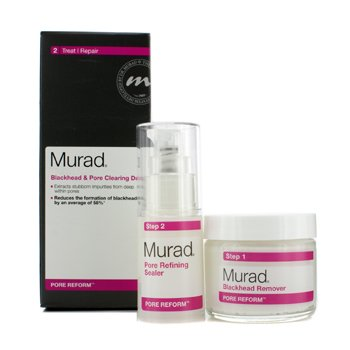 MuradPore Reform Blackhead & Pore Clearing Duo: Blackhead Remover 50g + Pore Refining Sealer 15ml 2pcs