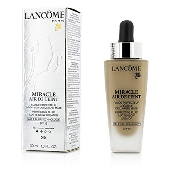 Lancome Miracle Air De Teint �ahk� zdokona�uj�ci make-up pre nah� l��enie SPF 15 – 010 Beige Porcelaine  30ml/1oz