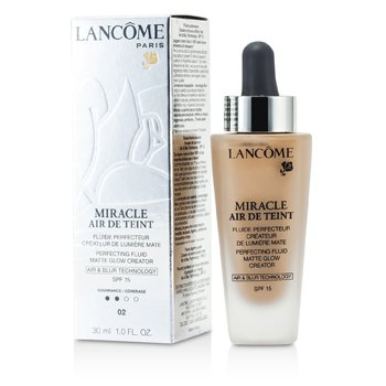 Lancome Miracle Air De Teint Perfecting Fluid SPF 15 – # 02 Lys Rose 30ml/1oz