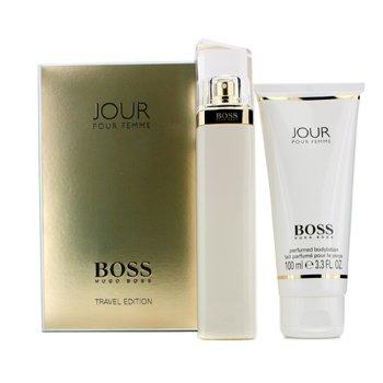 Hugo BossBoss Jour Edici�n de Viaje Coffret: Eau De Parfum Spray 75ml/2.5oz + Loci�n Corporal 100ml/3.3oz 2pcs