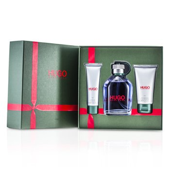 Hugo BossHugo Coffret: Eau De Toilette Spray 150ml/5oz + After Shave Balm 75ml/2.5oz + Shower Gel 50ml/1.6oz 3pcs