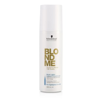 SchwarzkopfBlondme Illumi Lights Leave-In Conditioner (For Highlighted Blondes) 200ml/6.76oz