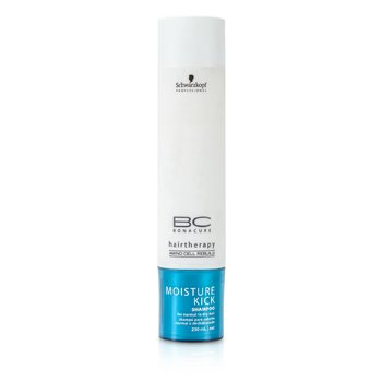 SchwarzkopfBC Moisture Kick Shampoo (For Normal to Dry Hair) 250ml/8.4oz
