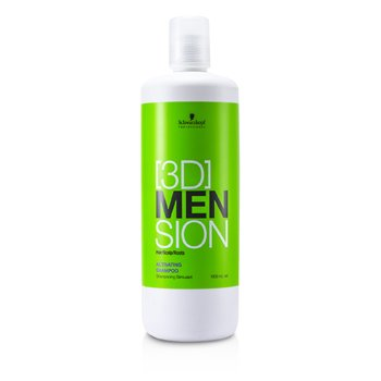 Schwarzkopf[3D] Mension Activating Shampoo 1000ml/33.8oz