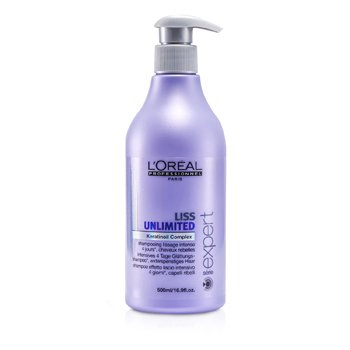 L'Oreal Professionnel Expert Serie – Liss Unlimited Smoothing Shampoo (For Rebellious Hair) 500ml/16.9oz