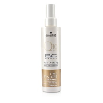 Bonacure Time RestoreBC Time Restore Q10 Plus Satin Spray (For Mature and Fragile Hair) 200ml/6.7oz