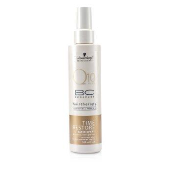 SchwarzkopfBC Time Restore Q10 Plus Satin Spray (For Mature and Fragile Hair) 200ml/6.7oz