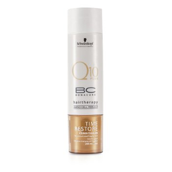 SchwarzkopfBC Time Restore Q10 Plus Conditioner (For Mature and Fragile Hair) 200ml/6.7oz