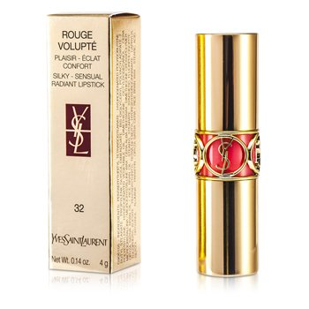 Yves Saint Laurent Rouge Volupte Shine - # 32 Corail Jalouse 4g/0.14oz