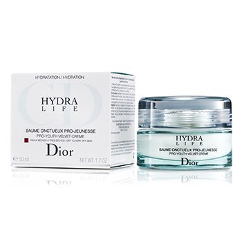 Christian DiorHydra Life Pro-Youth Velvet Creme (Dry to Very Dry Skin) 50ml/1.7oz