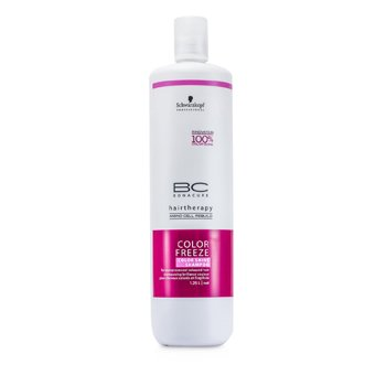 SchwarzkopfBC Color Freeze Color Shine Shampoo (For Overprocessed Coloured Hair) 1250ml/41.67oz