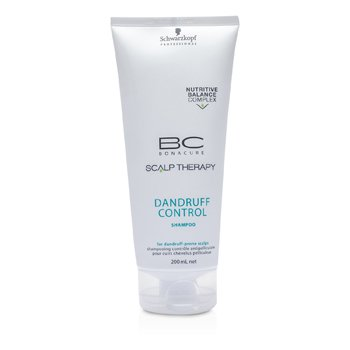 SchwarzkopfBC Scalp Therapy Dandruff Control Shampoo (For Dandruff-Prone Scalps) 200ml/6.7oz