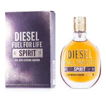 Diesel Fuel For Life Spirit Eau De Toilette Spray  50ml/1.7oz