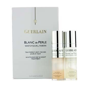 Guerlain Tratamento Clareador Diurno & Noturno Blanc De Perle White P.E.A.R.L.  2x15ml/0.5oz