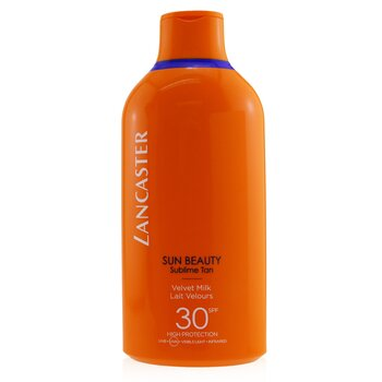 Купить Sun Beauty Бархатистое Молочко для Загара SPF 30 400ml/13.5oz, Lancaster