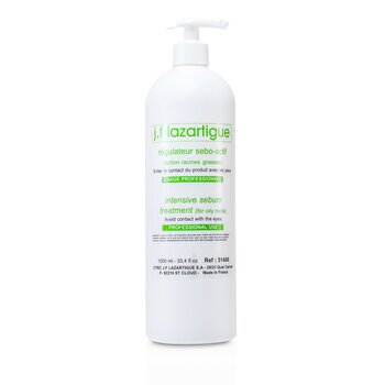J. F. Lazartigue Intensive Sebum Treatment - For Oily Roots (Salon Size)  1000ml/33.4oz