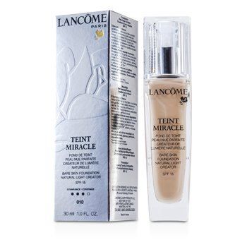 Lancome Teint Miracle Rozjas�uj�ci make-up pre nah� l��enie SPF 15 – 010 Beige Porcelaine  30ml/1oz