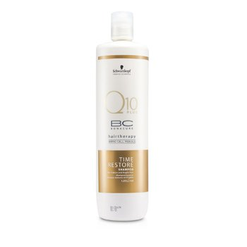 SchwarzkopfBC Time Restore Q10 Plus Shampoo (For Mature and Fragile Hair) 1250ml/41.67oz