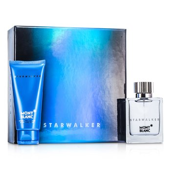 Mont BlancStarwalker Coffret: Eau De Toilette Spray 50ml/1.7oz + B�lsamo Para Despu�s de Afeitar 100ml/3.3oz 2pcs
