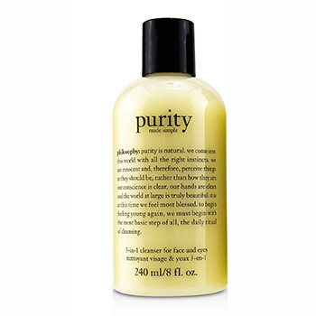 PhilosophyPurity Made Simple - 3-in-1 cleanser for face and eyes 240ml/8oz
