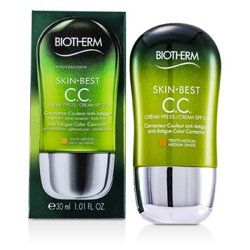BiothermSkin Best Crema CC SPF 25 - # 1 Medium 30ml/1.01oz