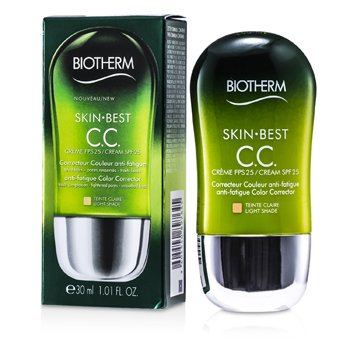 BiothermSkin Best Crema CC SPF 25 - # 2 Light 30ml/1.01oz