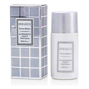 Borghese Terme Bianco Spa-Whitening Plus Vitamin C Shield Essence SPF50 PA+++  30ml/1oz