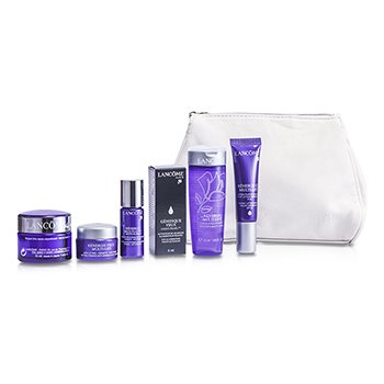 LancomeRenergie Multi-Lift Travel Set: Beauty Lotion + Anti-Wrinkle Cream + Color Corrector + Intense Concentrate + Eye Cream + Eye Activator + Bag 6pcs+1bag