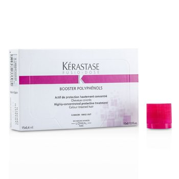KerastaseFusio-Dose Booster Polyphenols Highly-Concentrated Protective Treatment (For Colour-Treated Hair) 15x0.4ml/0.13oz