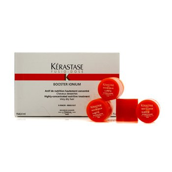 KerastaseFusio-Dose Booster Ionium Highly-Concentrated Nutritive Treatment (For Very Dry Hair) 15x0.4ml/0.13oz