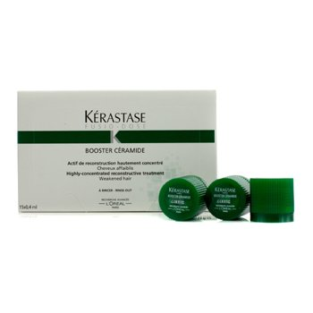 KerastaseFusio-Dose Booster Ceramide Highly-Concentrated Reconstructive Treatment (For Weakened Hair) 15x0.4ml/0.13oz