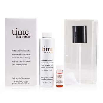 PhilosophyTime In A Bottle Daily Age-Defying Serum 2pcs