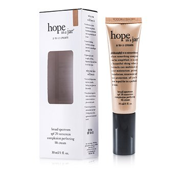 PhilosophyHope In a Jar A To Z Cream (Complexion Perfecting BB Cream SPF 20) - Medium 30ml/1oz