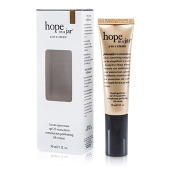 PhilosophyHope In a Jar A To Z Cream (Complexion Perfecting BB Cream SPF 20) - Tan To Deep 30ml/1oz