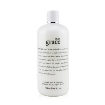 Philosophy Pure Grace Shampoo, Bath & Shower Gel 480ml/16oz