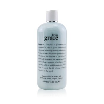 Philosophy Living Grace Shampoo, Bath & Shower Gel  480ml/16oz