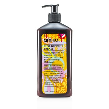 Amika Curl Defining Cream (For Curly Or Wavy Hair) 500ml/16.9oz