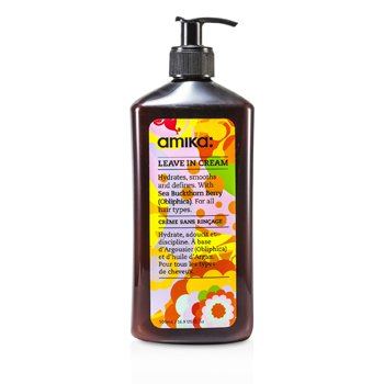 Amika Leave In Cream (For All Hair Types) 500ml/16.9oz