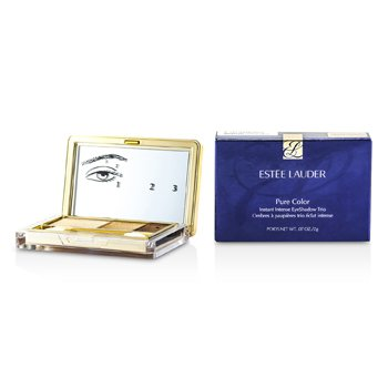 Estee Lauder Pure Color Instant Intense Eyeshadow Trio - # 05 Gilded Chocolates  2g/0.07oz