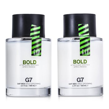 GapBold Camante Para Despu�s de Afeitar Duo Pack 2x100ml/3.4oz